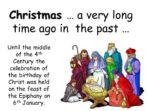 Christmas and Christingle