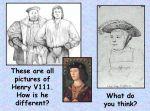 Henry VIII – Portraits KS2