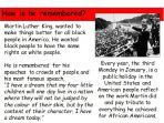Martin Luther King – Biography
