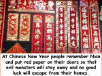 The Nian Monster & the Red Doors – Chinese Legend