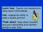 Portraying Relationships – KS2 art topic