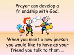 Prayer – KS1 & KS2 Assembly