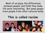 Racism – What is Racism? KS2