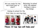 September – Back to School