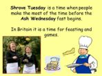 Shrove Tuesday – Assembly