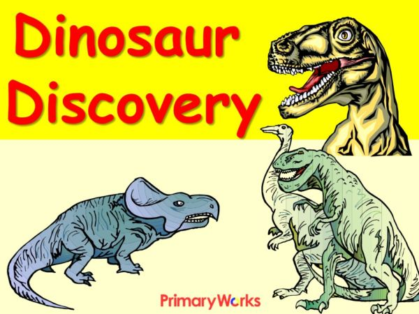 dinosaurs discovery powerpoint to download for ks1 or ks2 topic on dinosaurs for primary. Black Bedroom Furniture Sets. Home Design Ideas