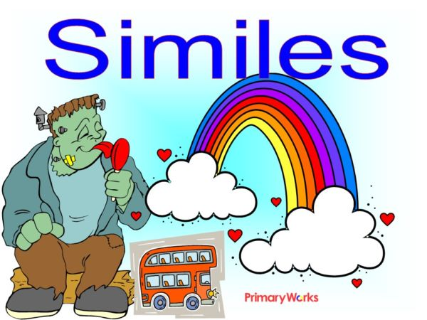 Similes Powerpoint English Similes For Ks1 Ks2 Similes