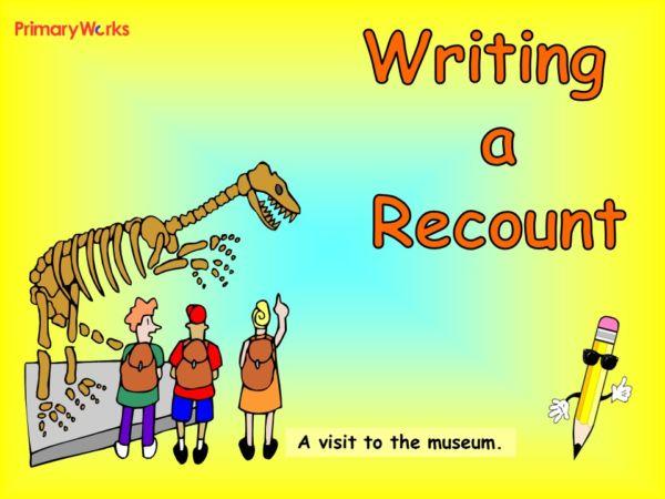 how to write a recount ks2