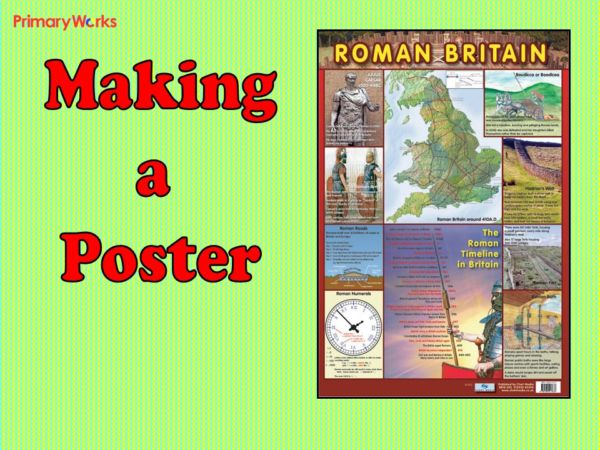 roman poster powerpoint for ks2 roman history topic making poster