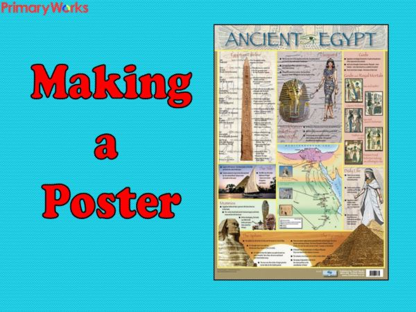Download Powerpoint Ks2 Making Poster About Egyptian