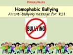 Homophobic Bullying – KS1 & KS2 Resource Pack