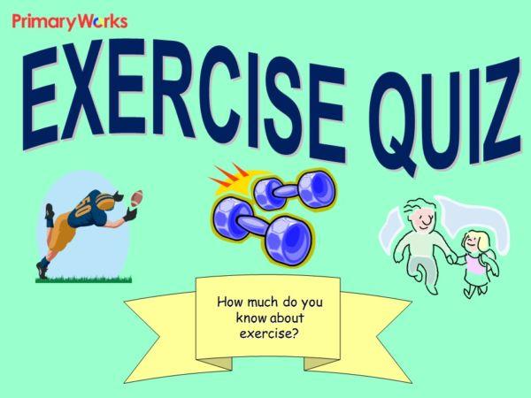 Exercise U0026 Health Quiz For KS2 Primary Science U0027Life U0026 Living Processesu0027  Unit, Health U0026 Exercise
