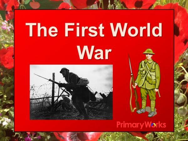 world war 1 assembly powerpoint for ks1 primary children