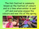 Religious Festivals in the Spring