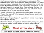 Aesop's Fables – The Ant & the Grasshopper