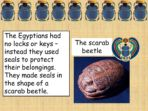 Ancient Egyptians – Easier Text