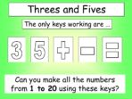 Threes and Fives
