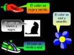 Colours – Spanish