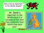 St David's Day – Assembly