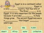 Life in Ancient Egyptian Times Pack