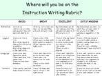 Instruction Writing Pack