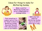 Mothering Sunday / Mother's Day