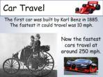 Transport & Journeys