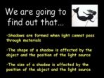 Shadow Puppets