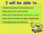 Writing Instructions – Making A Wormery