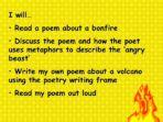 Volcano Poem