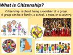 Acting Responsibly – Citizenship