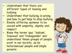 Homophobic Bullying – KS2