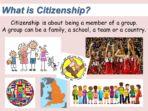 Making Choices – Citizenship