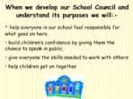 Developing Our School Council