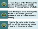 What Are Thinking Skills – Find Out More! INSET