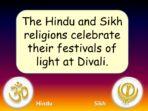 Divali, Rama and Sita