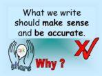 Does it Make Sense? – KS1 or KS2
