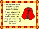 Traditional Tale – Little Red Riding Hood