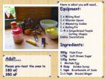 Instructions – Making Gingerbread Men