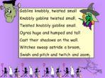 Dance of the Gong – Hallowe'en Poem