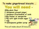 Spreadsheets &  Gingerbread Men