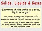 Solids, Liquids & Gases