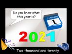 New Year – Resolutions 2021