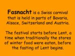 Fasnacht Festival