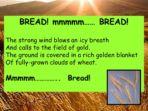 Bread & Poetry – cross curricular theme