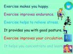 Exercise Quiz