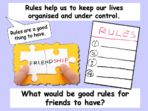 Rules for Friendship