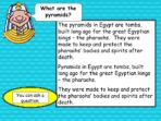 Making a Poster – Egyptian Pyramids