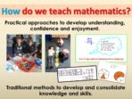 Maths Pack for an Information Evening for Parents