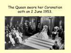 Queen's Coronation – 60th Anniversary